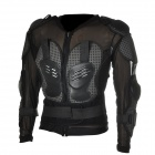 YW001 Motorcycle Body Protection Riding Armor Suit - Black + Grey (Size-XL)