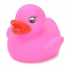 Funny Floating Duck Bath Toy for Baby - Deep Pink