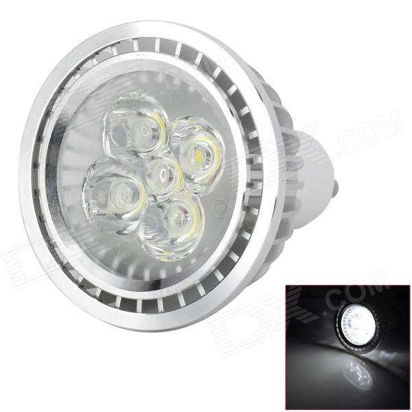 GU10 5W 420lm 6500K 5-LED Light Bulb Branco - Prata (220V AC)