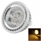 GX5.3 5W 420lm 3500K 5-LED Warm White Light Bulb - Silver (DC 12V)