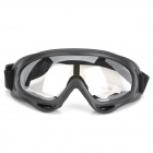 Wanke WK-11 Outdoor Motociclistas legal Windproof Goggles - Black + Transparent
