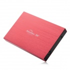 "Blueendless BS-U25YA IDE USB 2.0 External 2.5"" IDE HDD Enclosure Case - Red"