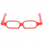 Creative Glasses Frame Style Ballpoint Pen - Red (2 PCS)