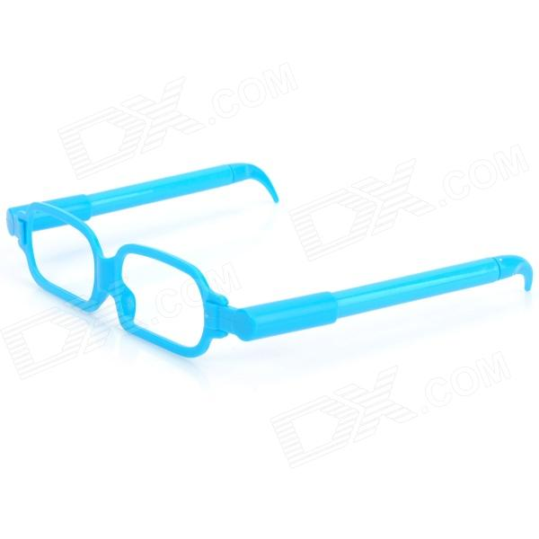 Creative Glasses Frame Style Ballpoint Pen - Blue (2 PCS)