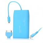 PME NT-60 6000mAh Portable External Power Battery w / Adapter für iPhone / Samsung / HTC / LG + Mehr