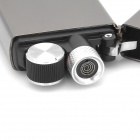 FE802 USB Rechargeable Electronic Cigarette Lighter - Silver Black