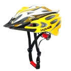 Laplace A8 Cool Outdoor Bike Bicycle Cycling Helmet - Yellow + White (57~62cm)