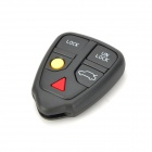 Replacement 5-Button Remote Key Cover Shell Case for Volvo - Grey
