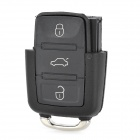 AML030604 Volkswagen Passat Automobile 3-Key Remote Control Key Case - Black