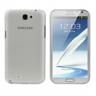 Protective PC Back Case for Samsung Galaxy Note II N7100 - Transparent