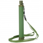 Outdoor Camping Hiking Survival Water Filtration Purifier Drinking Pip Straw - Army Green