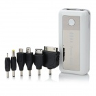 ZNOODA 5600mAh External Batter w/ 1-LED White Light + Adapter for Cell Phone / Tablet PC - White