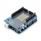 Z1301 ATMega328-20PU + Mini Breadboard Prototype Shield Set - Blue
