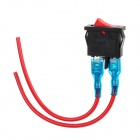 Universal Motorcycle LED Light Rocker Switch (10cm-Cable Length)