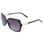 ReeDoon 3131 Fashion Lady's UV400 Protection Sunglasses - Black