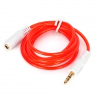 3.5mm Plug to Jack Extension Audio Cable - Red + White (100cm)