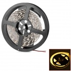 144W 8000lm 3500K 600-SMD 5050 LED Warm White Decoration Light Strip - White (DC 24V / 5m)