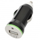 E8-CC Car Cigarette Lighter Charger for Iphone / Samsung / HTC + More - Black (DC 12~24V)
