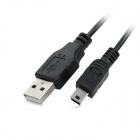 USB Charging Extension Cable for Wii U Controller - Black (1.8m)