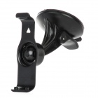 360 Degrees Rotation Plastic Stand Holder w/ Suction Cup for Garmin Nuvi 2500 - Black
