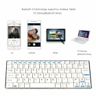 Rii i9 Ultra-thin Wireless Bluetooth v3.0 + HS 84-key Keyboard for Android Cellphones / Tablets