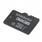 Original SAMSUNG Class 10 MicroSD/TF Flash Memory Card - Black + White (32GB)