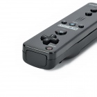 Motion Plus w/ Silicone Sleeve + Nunchuck Controller for Wii U - Black