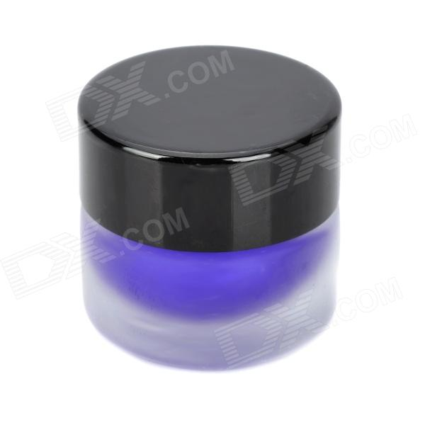 Water Resistant Beauty Cosmetic Makeup Eyeliner Gel - Purple (3g) free shipping 3 pp eyeliner liquid empty pipe pointed thin liquid eyeliner colour makeup tools lfrosted purple