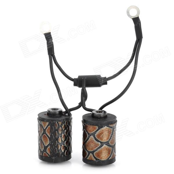Фото PJ10017 Snakeskin Tattoo Machine Coil - Black + Brown