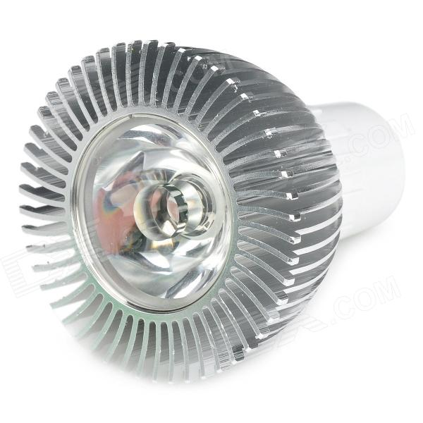 G5.3 1W 120lm 3500K Warm White 1-LED Spot Light - Silver (90~120V)