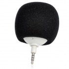 Universal USB Rechargeable Mini External Speaker for Iphone / Ipad - Black + White (3.5mm Plug)