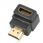 HDMI V1.3 Male to Female Connection Cable w/ Angle HDMI Adapter