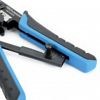 UCP-376TX 4P / 6P / 8P Modular Cable Wire Strippers - Blue + Black