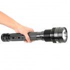 RUSTU R50 Xenon HID R85 4500lm 50W 2-Mode White Rechargeable Flashlight - Black