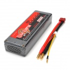 WILD SCORPION Replacement 7.4V 5500mAh Battery for R/C Boat - Red + Black + Grey
