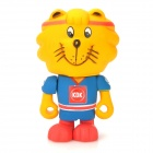 PROJECT SINGA S025 Goodrich Lion Abbildung Toy - Blue + Yellow + Red