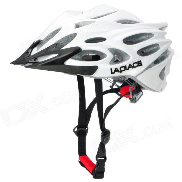 Laplace A8 Cool Outdoor Bike Bicycle Cycling Helmet - White (57~62cm)