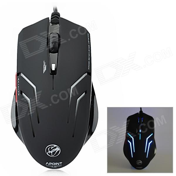 X7 Wired USB 2.0 1200/1600/2000dpi Optical Game Mouse - Black (145cm-Cable) от DX.com INT