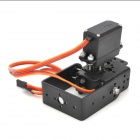 2 Dof Pan + Tilt MG995 Steering Gear Joint for Robot Arm / 26cc~50cc Gasoline Fixed Wing Helicopter