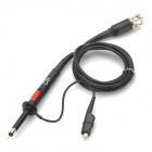 Pro'sKit 6HP-9060 Switchable X1/X10 Check Tool Oscilloscope Probe Kit - Black + Silver
