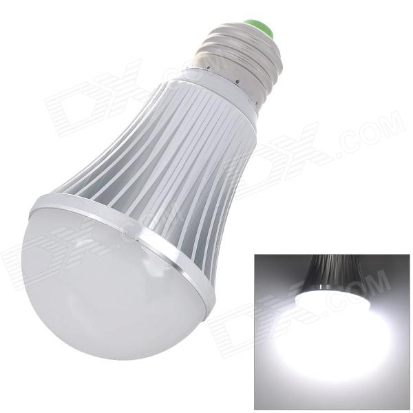 L20121226-8 E27 7W 7000K 600lm 14-SMD 5630 LED White Light Bulb (AC 85~245)