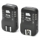 PIXEL KING/C Wireless E-TTL Flash Trigger Transmitter Receiver for Canon 1Ds Mark III - Black