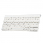 BK3003 2.4GHz Wireless Bluetooth 78-Keys Keyboard for Iphone 5 - White (2 x AAA)