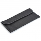 Rectangle 4-segment Protective Mutispandex Bag for UV / Filter / Protective Lens / Polarizer - Black