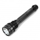 RUSTU R35B Xenon HID R85 3200lm 35W 2-Mode White Rechargeable Flashlight - Black