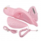 KXT-3015 Cartoon Parrot Style Wired Telephone - Pink