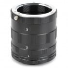 43mm Macro Extension Aluminum Alloy Tube Set for Canon EOS M - Black + Silver