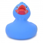 121203 Cute Duck Style Rubber Latex Bath Toy for Kids - Blue + Red
