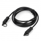 Optical Toslink Male to Male Digital Audio Cable - Black (180cm)