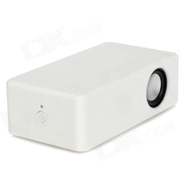 Portable Wireless Interaction Amplifying Speaker for Iphone - White (3 x AA)